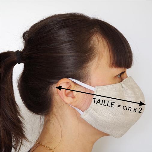 masque de protection barrière virus covid-19