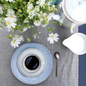 chemin de table pur lin couleur lin naturel